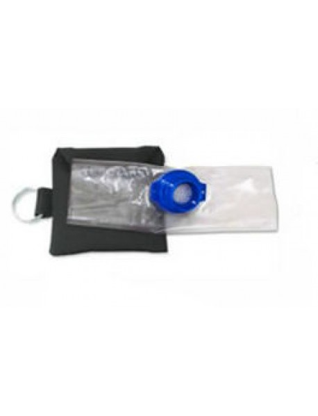 Keychain CPR Barrier with Valve