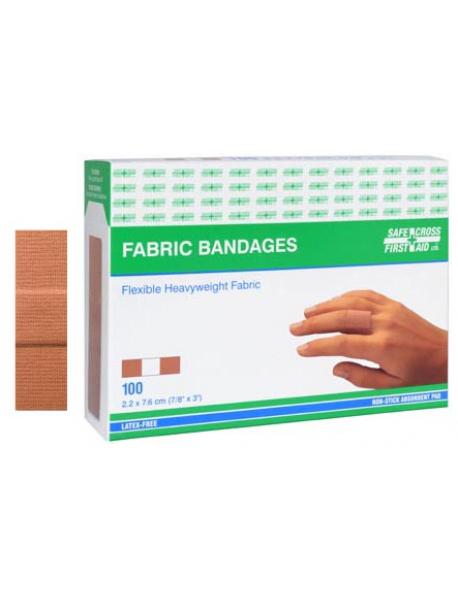 Fabric Bandages, Box of 100