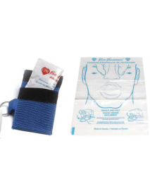 Keychain CPR Barrier