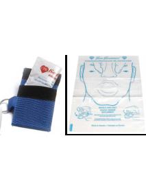 Keychain CPR Barrier